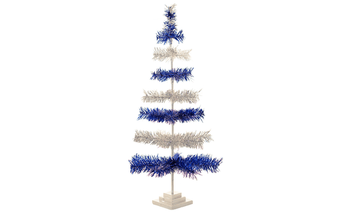 Lee Display Tree Colts Tinsel Christmas Tree