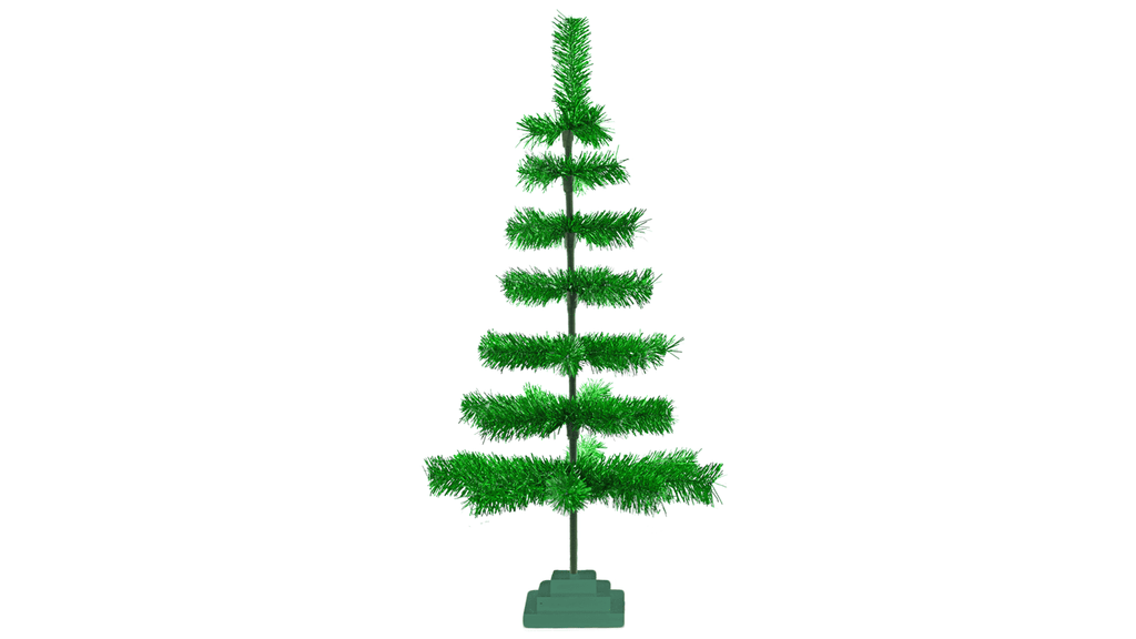 Lee Display Tree Metallic Green Christmas Tree