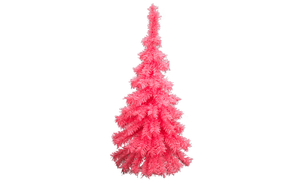 Lee Display Tree Pink Wall Hanging Christmas Tree