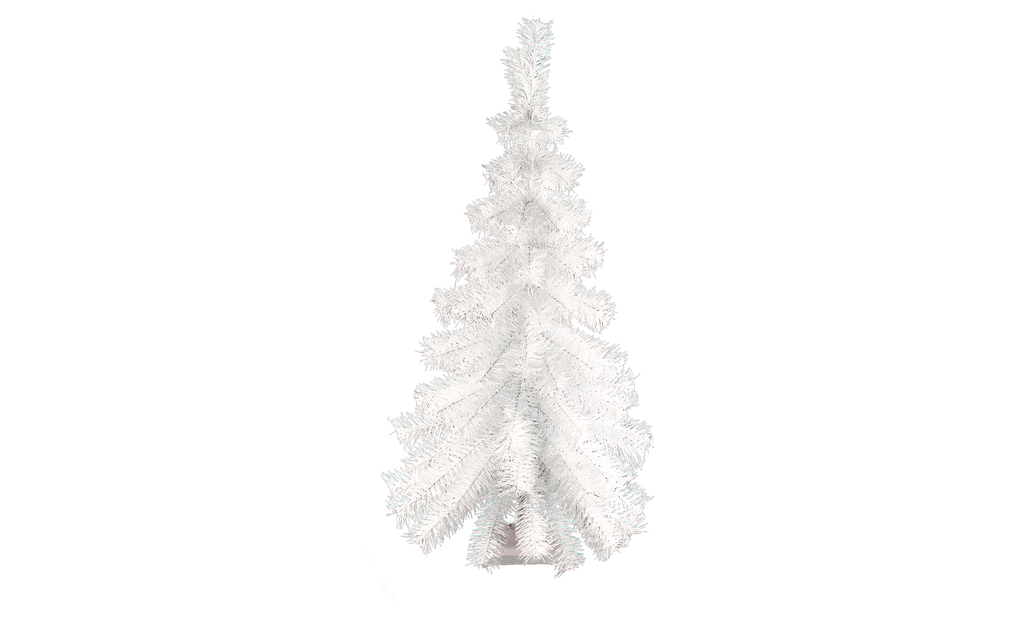 Lee Display Tree White Wall Hanging Christmas Tree