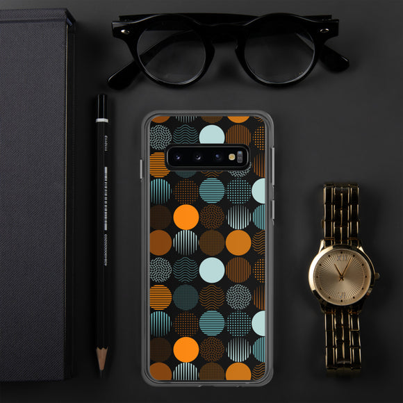 Dots & stripes Samsung Case