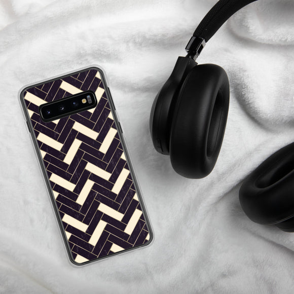 Black & white Samsung Case