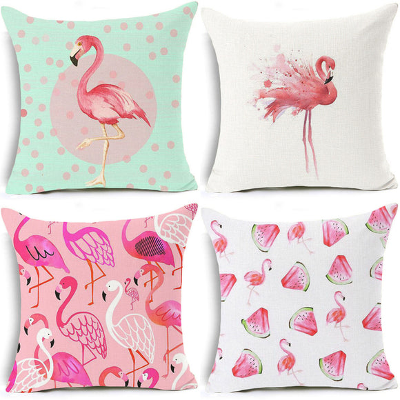 Flamingo cover - evasdecor.com