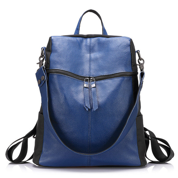 Genuine leather backpack - evasdecor.com