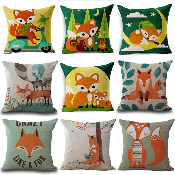 Cute fox cover - evasdecor.com