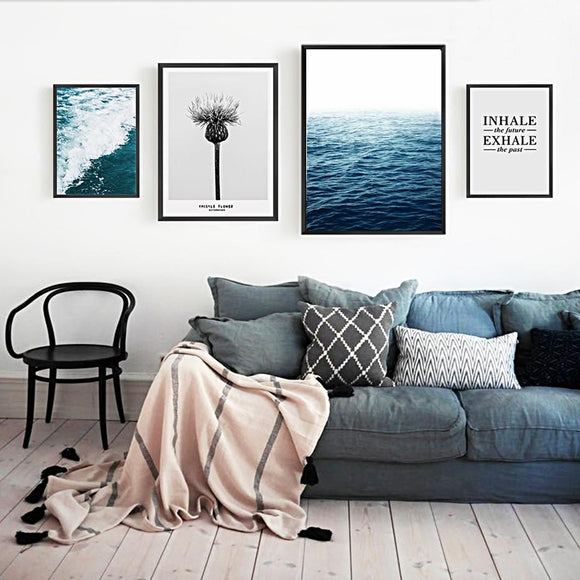 Sea view canvas print - evasdecor.com