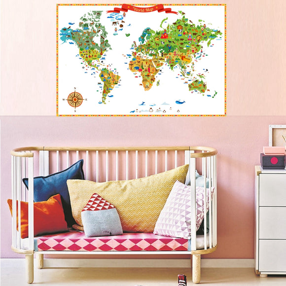 Animal map - evasdecor.com