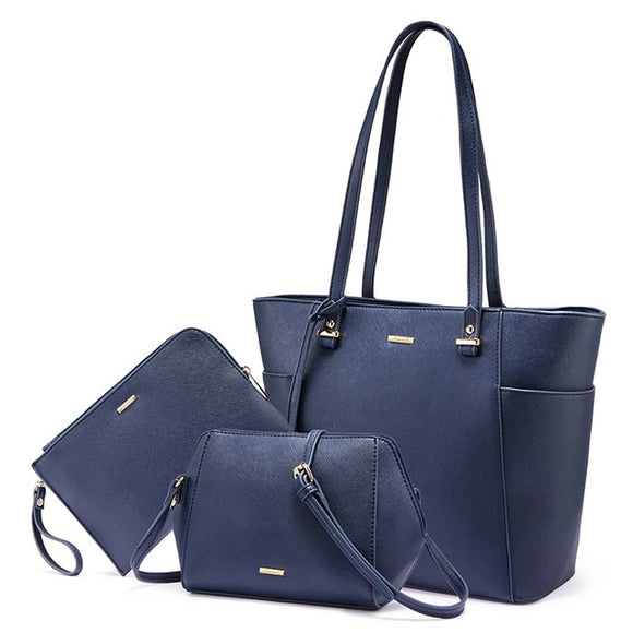 Shoulder bag, 3 pcs set - evasdecor.com