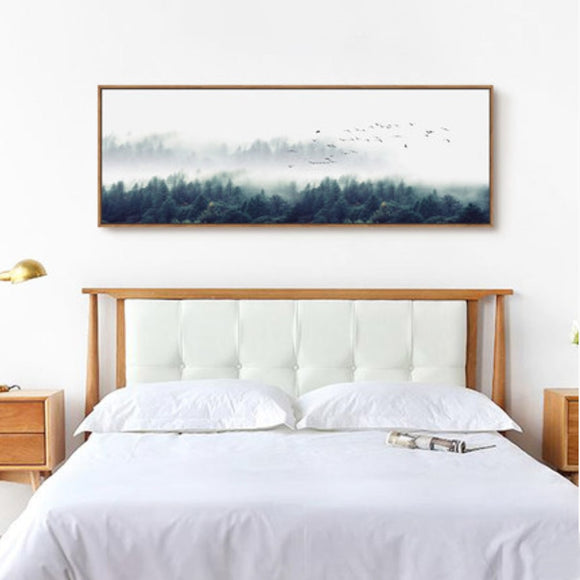 Forest wall canvas art - evasdecor.com