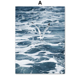 Seascape wall canvas art - evasdecor.com