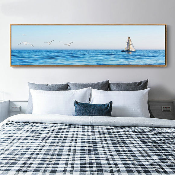 Seascape canvas print - evasdecor.com