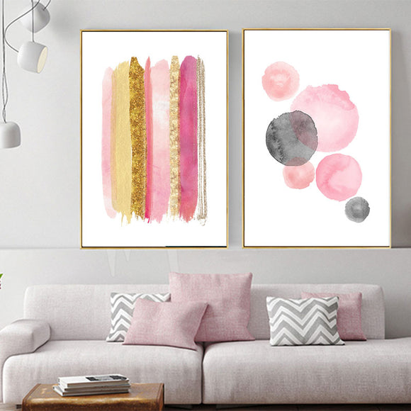 Watercolor wall canvas art - evasdecor.com