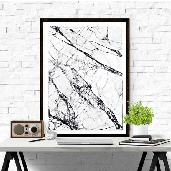 Marble canvas art 3 - evasdecor.com