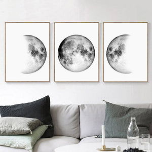 Earth canvas print - evasdecor.com
