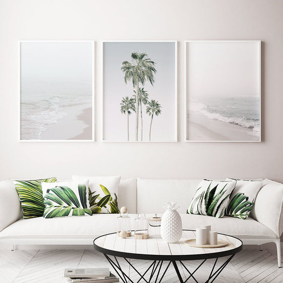 Ocean canvas print - evasdecor.com