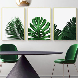 Palm tree canvas print - evasdecor.com