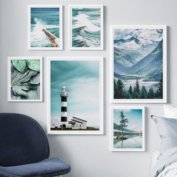 Lighthouse canvas print - evasdecor.com