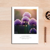 Lavender canvas print - evasdecor.com