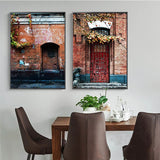 Old town canvas print - evasdecor.com