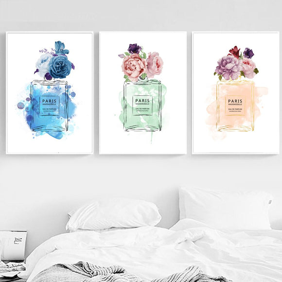 Fashion wall canvas art - evasdecor.com