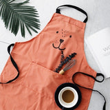 Cartoon kitchen apron - evasdecor.com