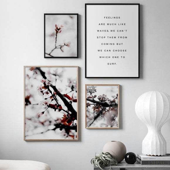 Cherry blossoms canvas print - evasdecor.com