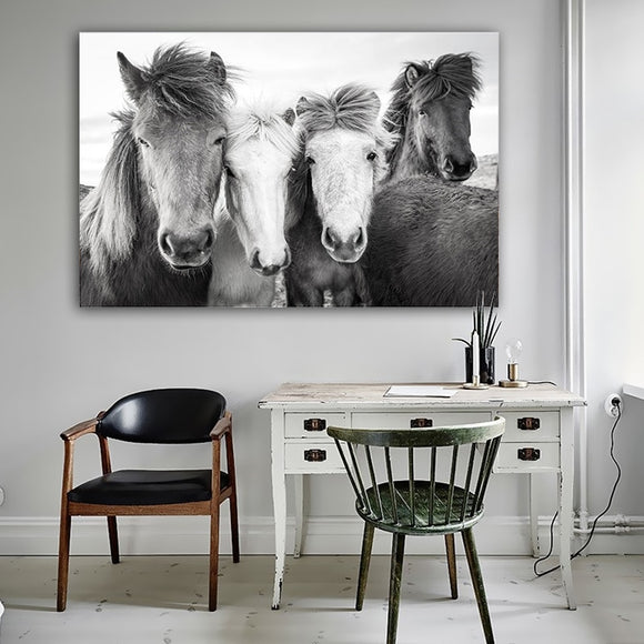 Horses canvas print - evasdecor.com