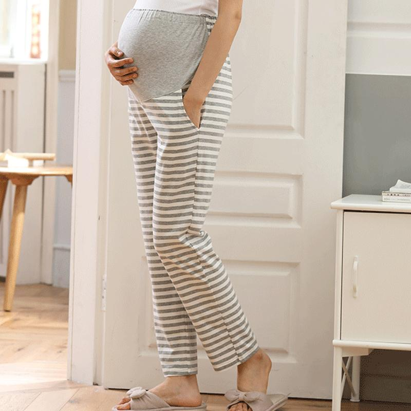 Maternity Stripe Tumor Pants