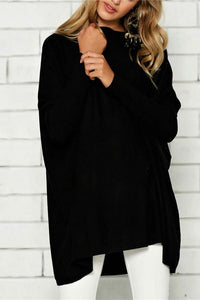 Maternity Women's Solid Color Long Sleeve T-Shirt