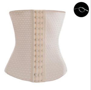 Women Slimming Body Waist Shaper Corset Trainer Body Breathable Belt