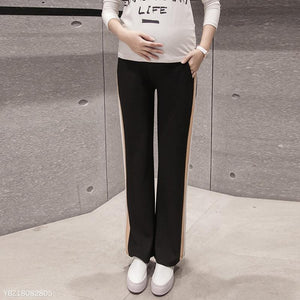 Maternity Black Basic Wide Leg Pants