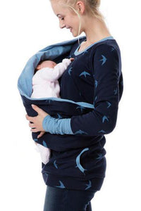 Maternity Multi-Function Lactation Hoodie