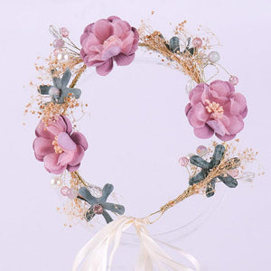 Maternity Flower Crown Wreath Headband For Photography