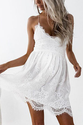 Maternity Lace Cami Dress