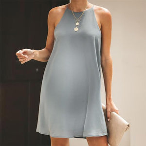 Maternity Pure Color Off Shoulder Dress