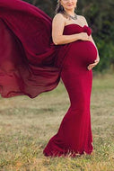 Maternity Drag-And-Pull Dresses