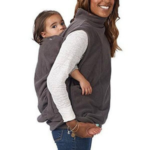 Fashion Womens Hoodie Womens Kangaroo Hoodie Sleeveless Vest
