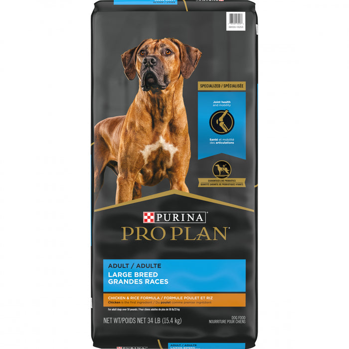 Purina Pro Plan Adult Large Breed Formula Dry Dog Food