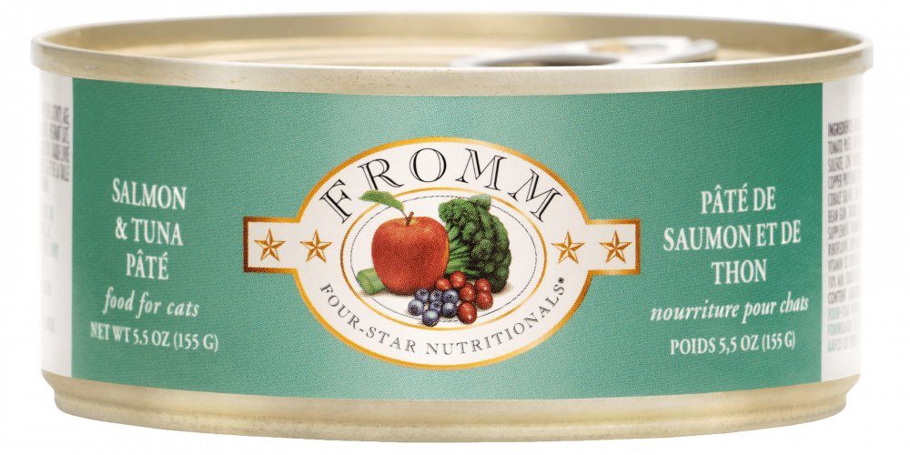 Fromm Four Star Canned Salmon & Tuna Pâté Cat Food