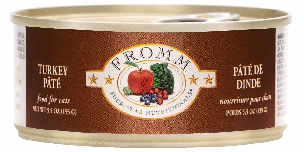 Fromm Four Star Canned Turkey Pâté Cat Food
