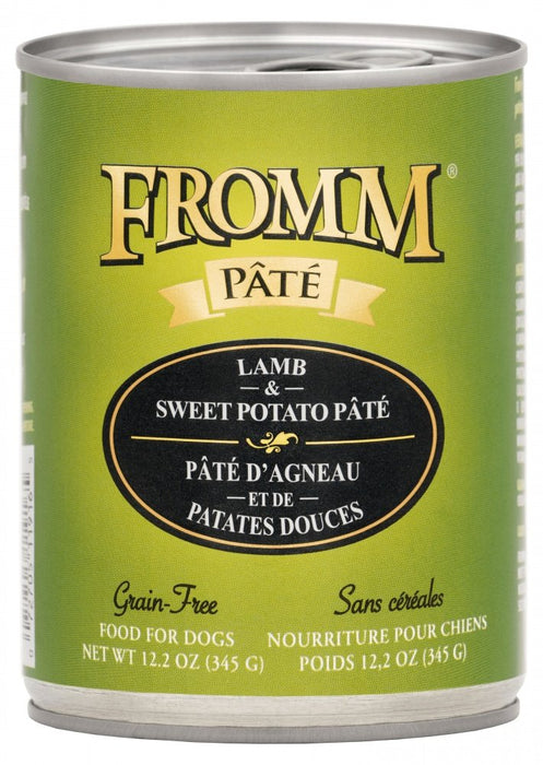 Fromm Grain Free Canned Lamb & Sweet Potato Pâté Dog Food