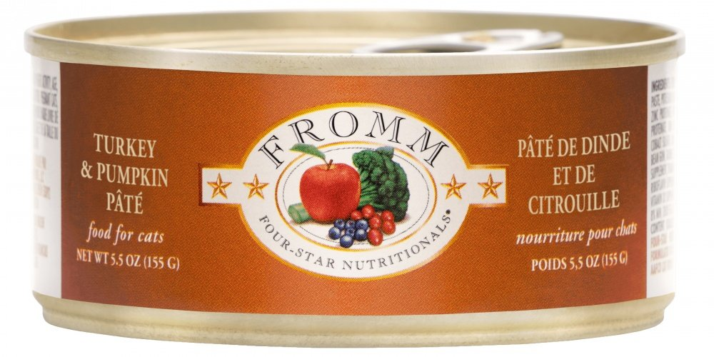 Fromm Four Star Canned Turkey & Pumpkin Pâté Cat Food