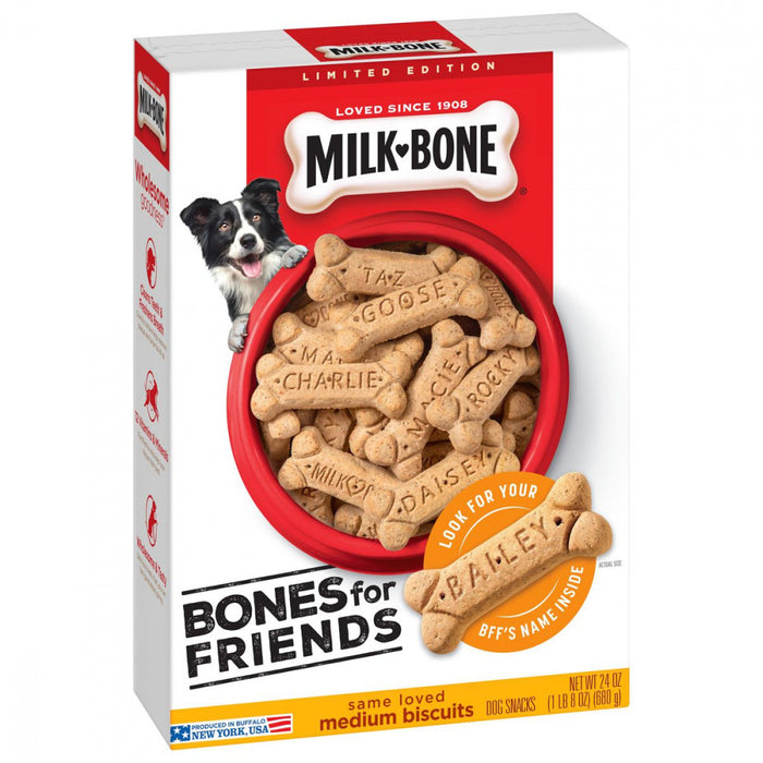 Milk-Bone Bones for Friends Medium Dog Biscuits