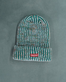 Rainbow Knit Loose Gauge Beanie