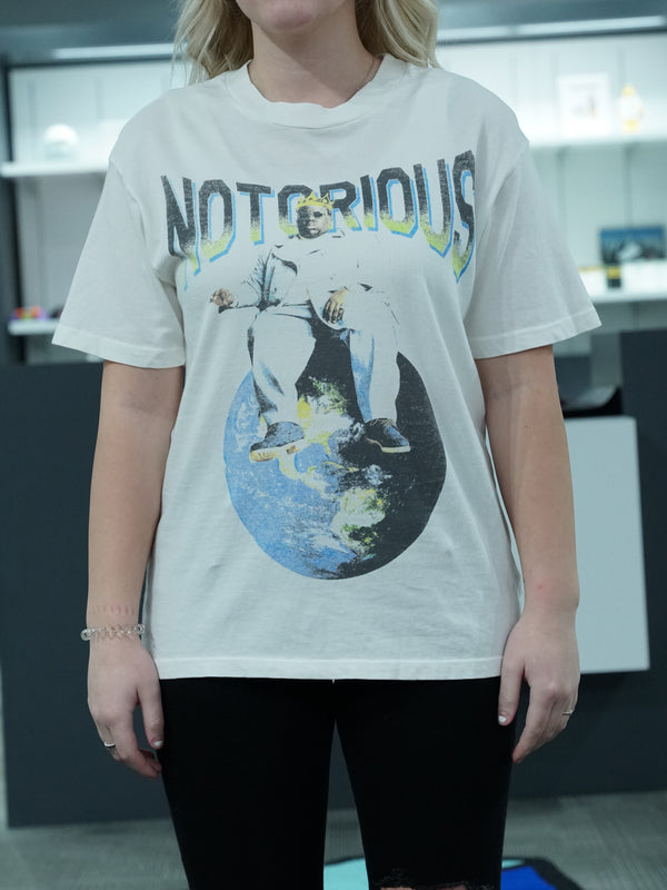 Notorious Big Top Of The World Tee