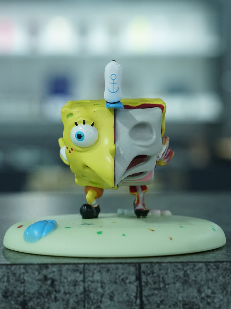 Mocking Spongebob Hidden Dissectible by Jason Freeny