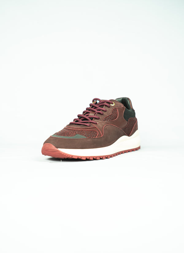 SANTA MONICA  Burgundy stingray suede