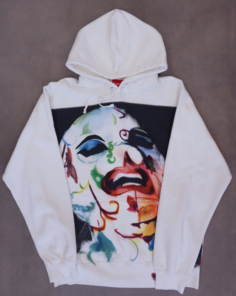 Leigh Bowery Supreme Airbrushed Hooded Sweatshirt