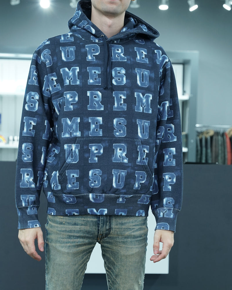 Blocks hooded sweatshirt