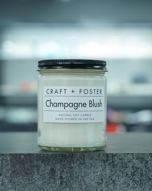 Champagne Blush Candle